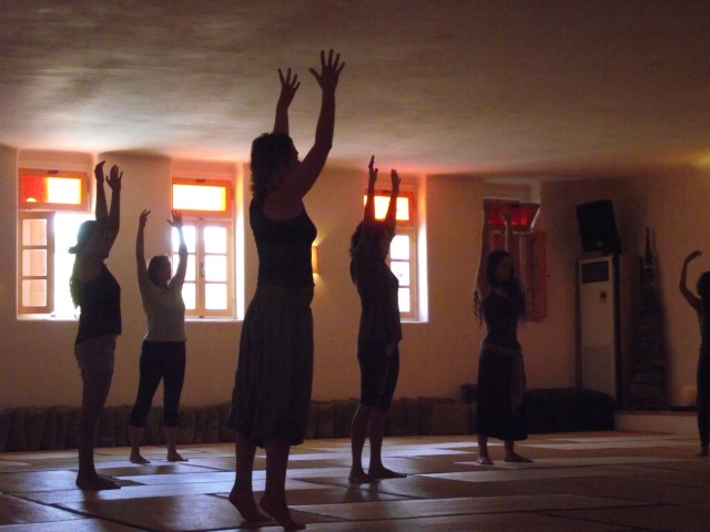 dance | big hall | taos center | paros | greece