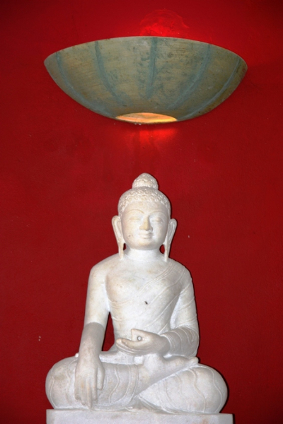 Tao's Center, Paros, Greece, buddha bar
