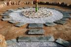 Tao's Center, Paros, Greece, totem circle