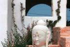 Tao's Center, Paros, Greece, welcom buddha