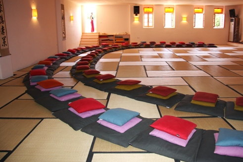 Tao's Center | Paros |Greece | Big Hall | meditation hall | workshop venue