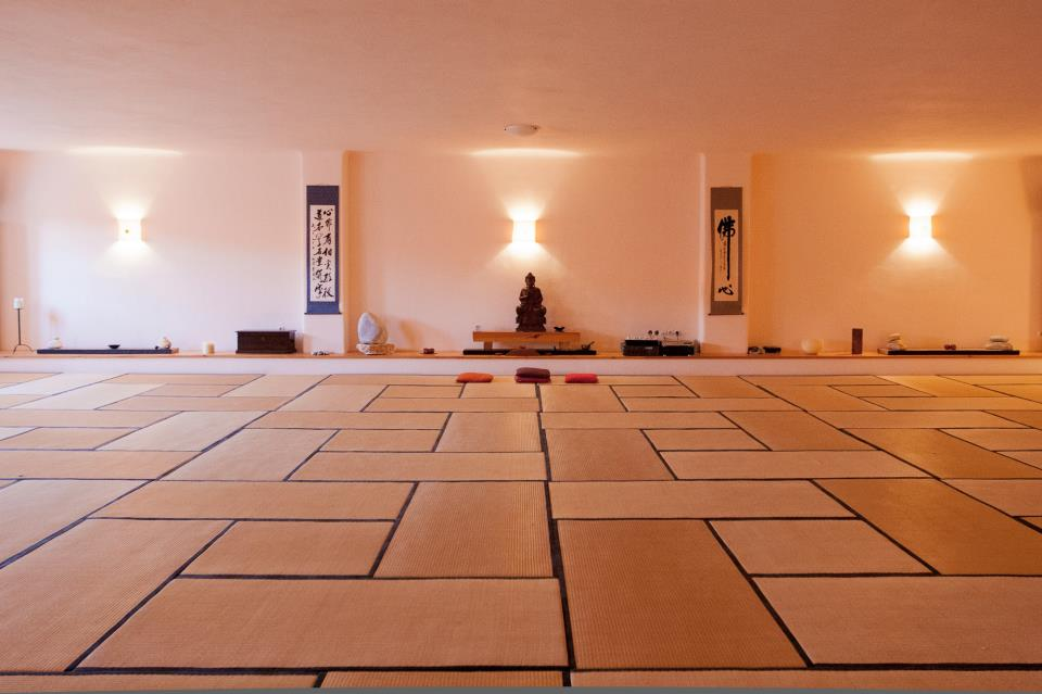 Tao's Center |Paros | Greece | Big meditation Hall| Workshop venue