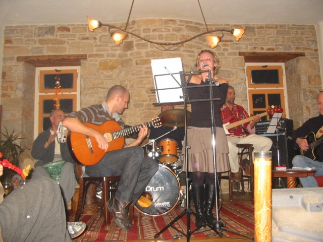live music | taos center | paros | greece