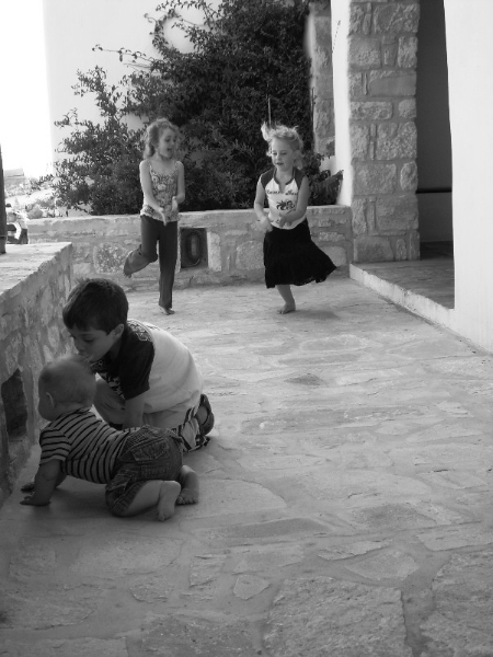 kids play | tao's greece