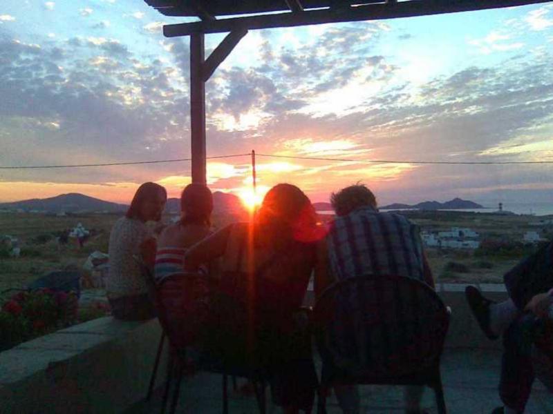 sunset paros   tao's greece