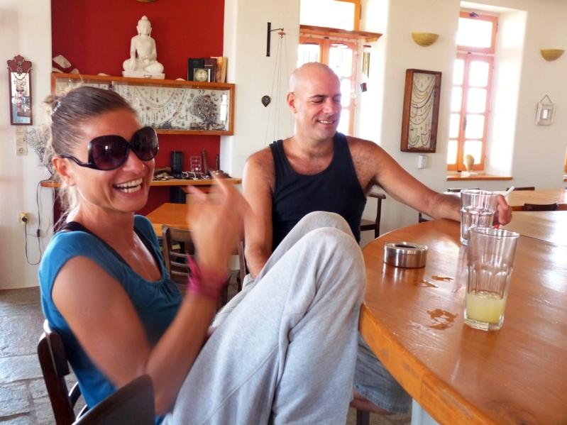 vacation for singles  Tao's Center  Paros  Greece