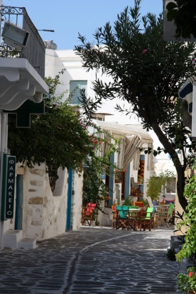 greek streets| paros island| Tao's Center| Paros| Greece
