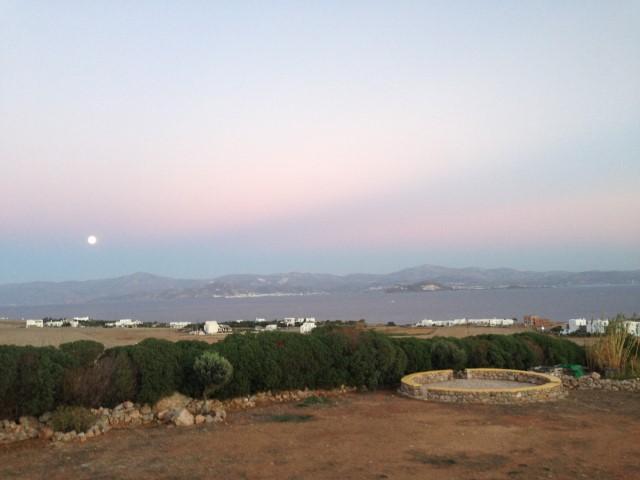 full moon | greek islands vacation | taos center | Paros | Greece