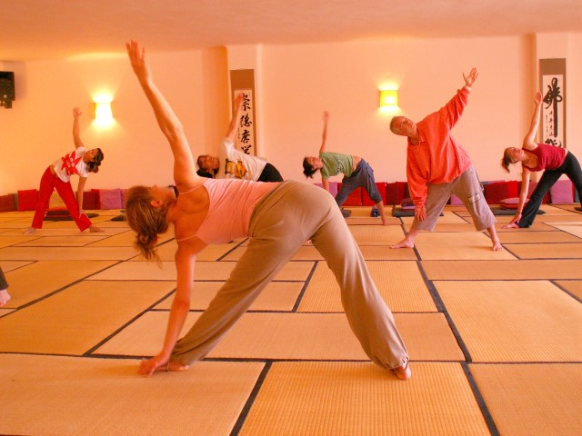 yoga |big hall | taos center | paros | greece
