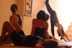vinyasa yoga  big hall   ouvi lifshitz   taos center   paros   greece